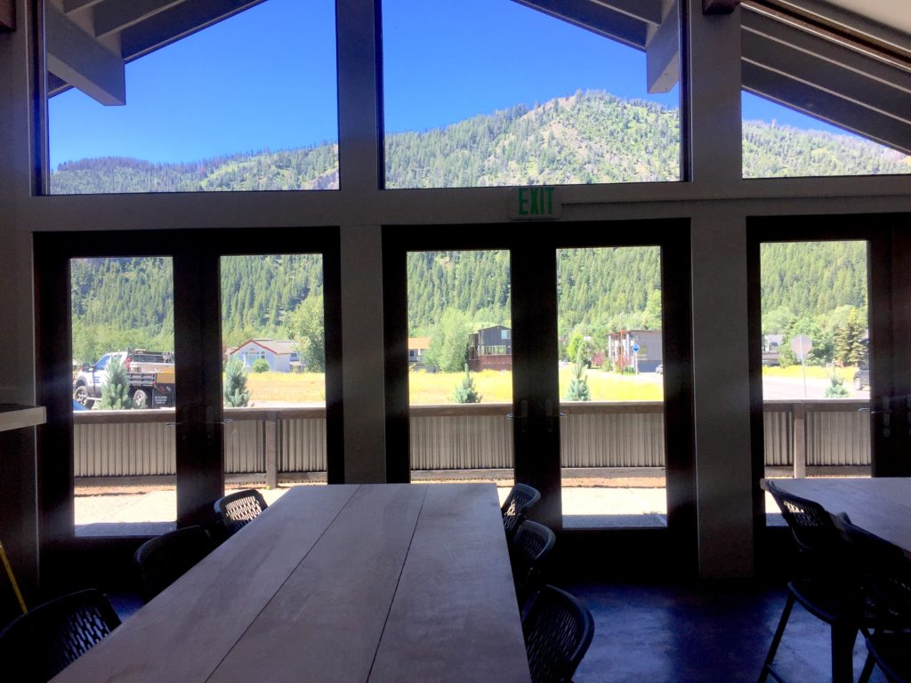 Big views of Sun Valley from Ketchum Innovation Center