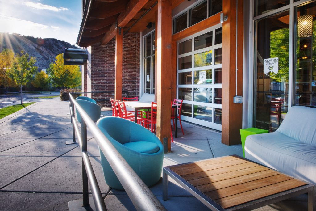 Outdoor Workspace in Eagle, CO