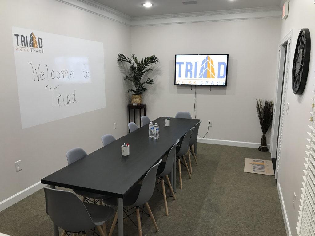 Conference Room at Triad Workspace