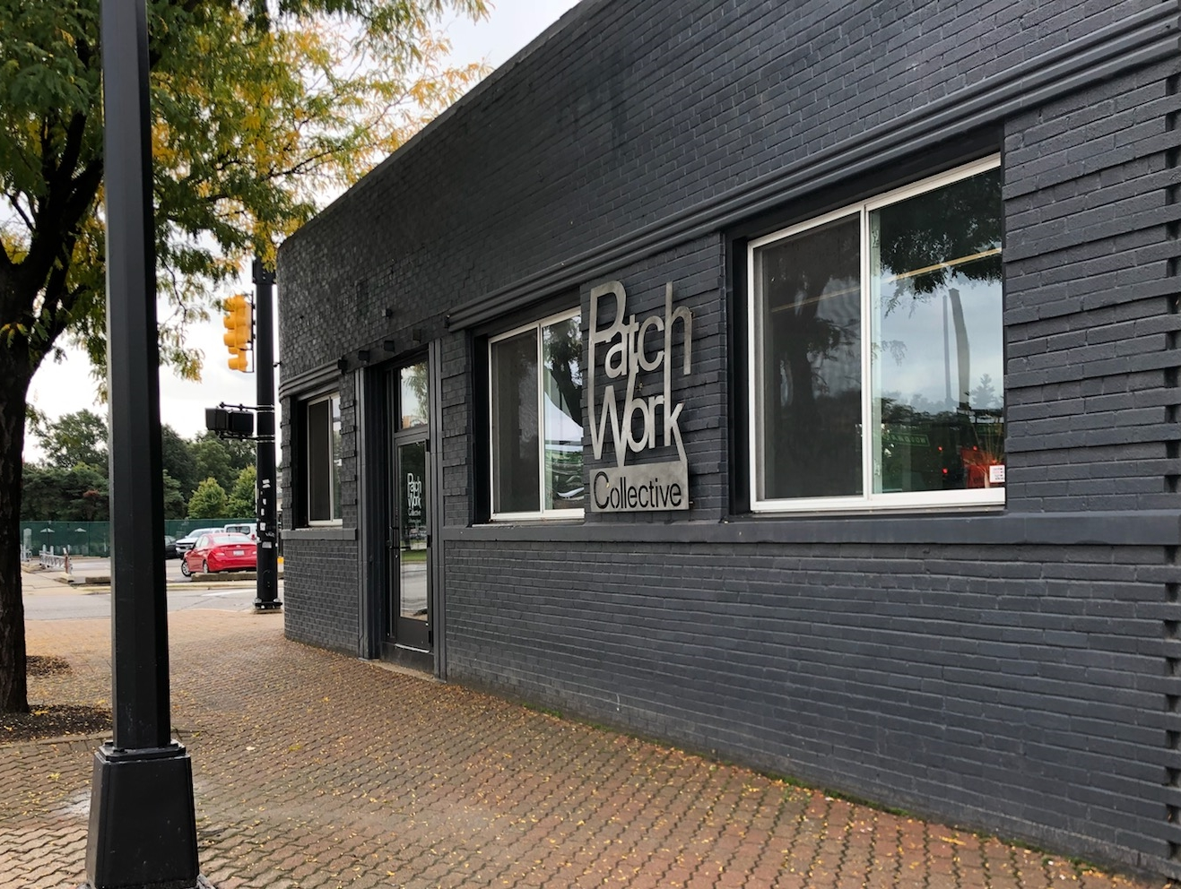 Outside view of PatchWork Collective