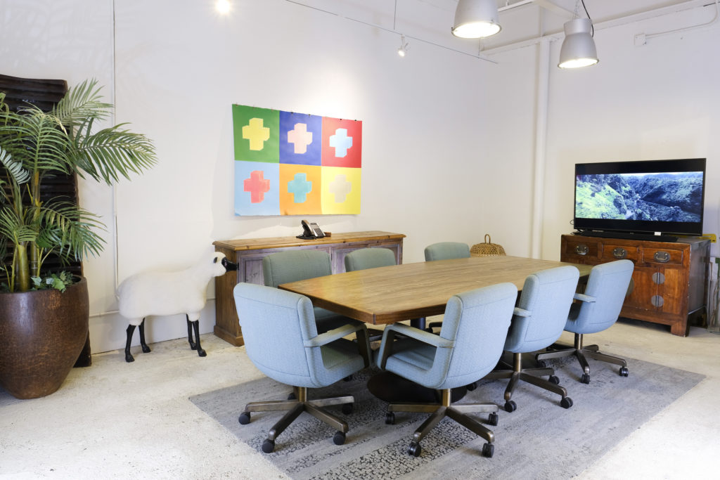 Conference Room at BoxJelly