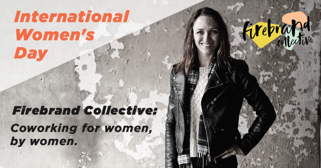 IWD Firebrand Collective Graphic