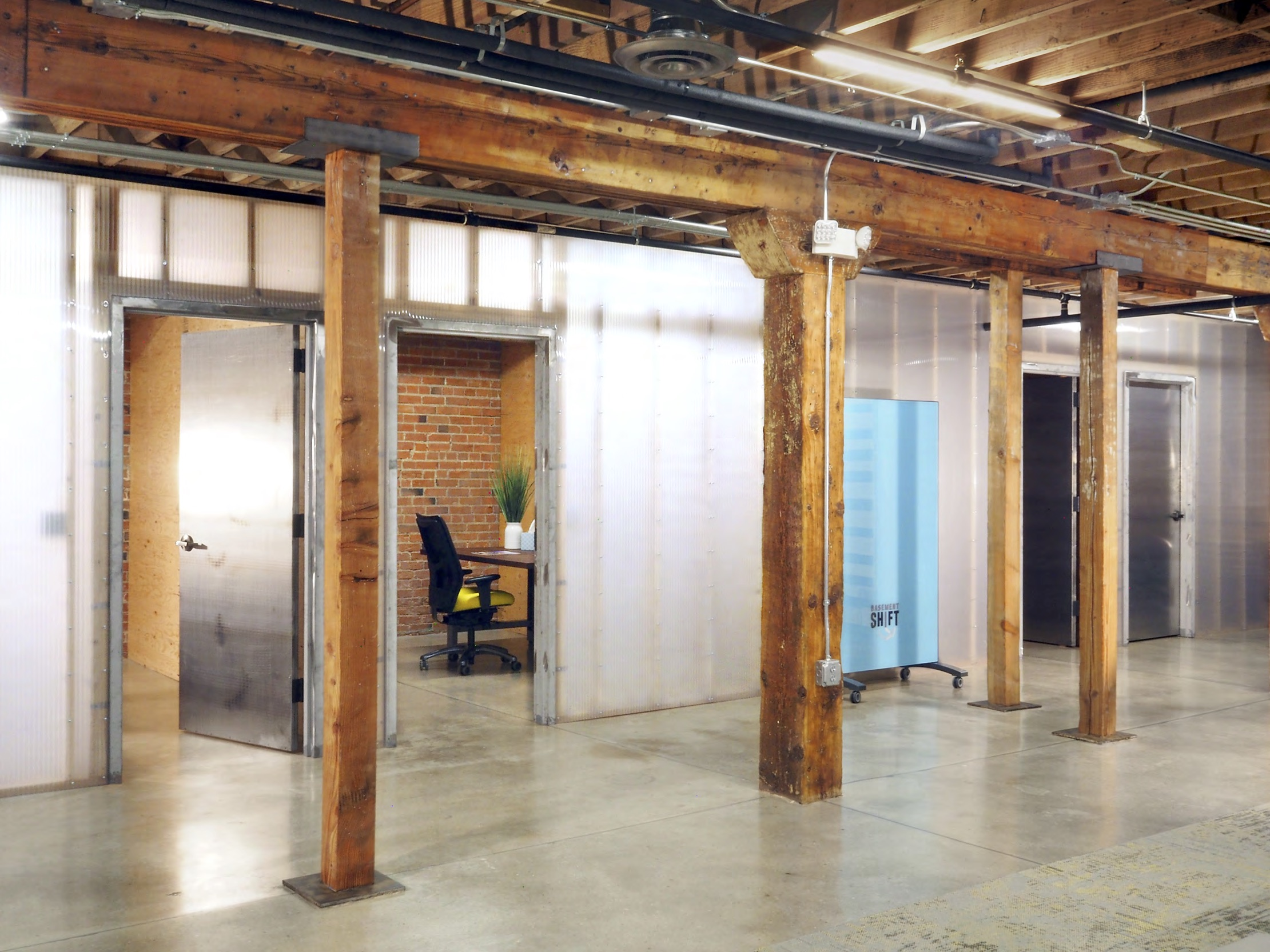 Offices at Basement Shift Coworking Space