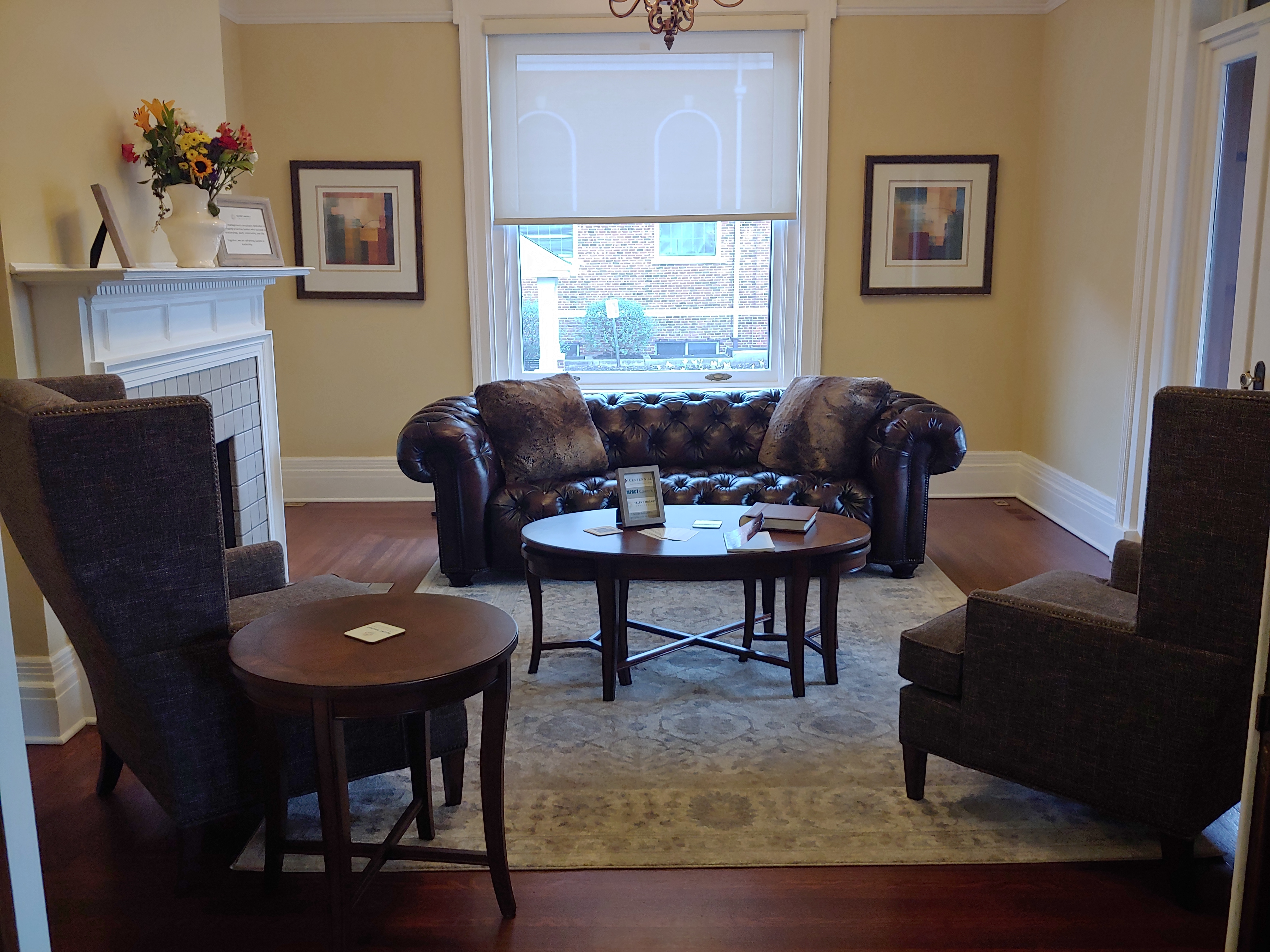 Lounge at Impact Coworking