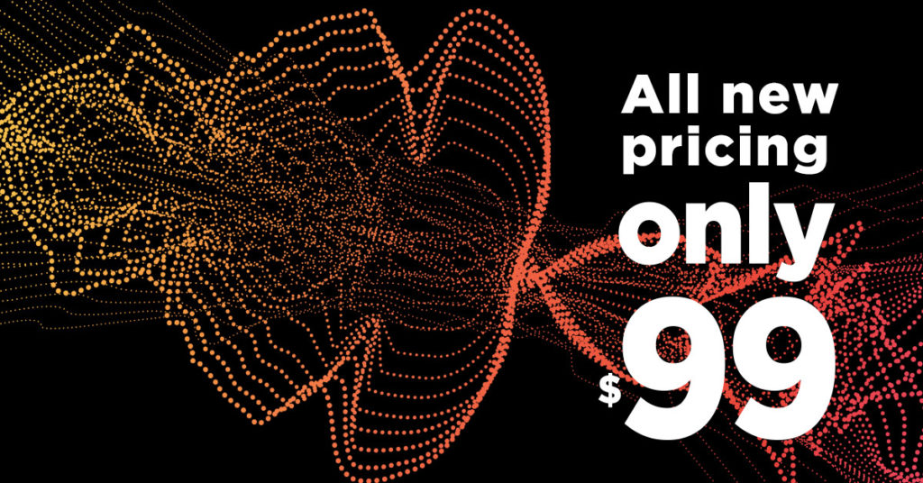 introducing $99 pricing