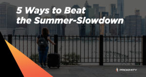 5 Ways to Beat the Summer-Slowdown Graphic