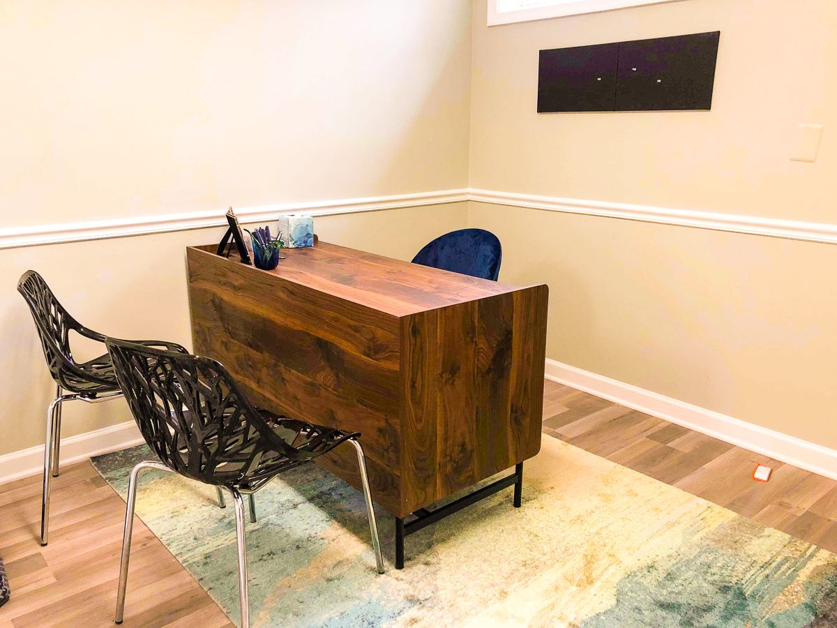 Dedicated desk at Shared Luxuries Coworking space