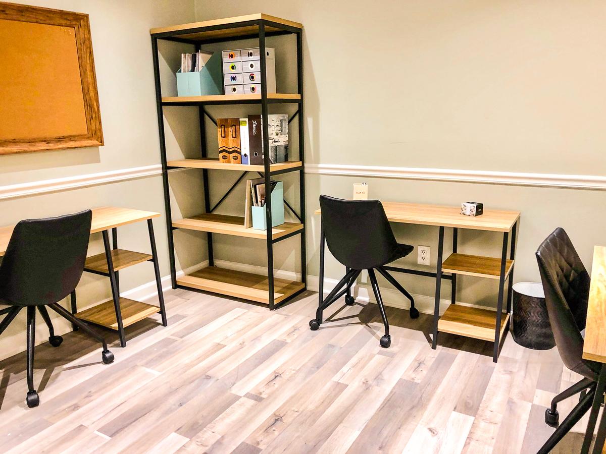 Shared Luxuries desks