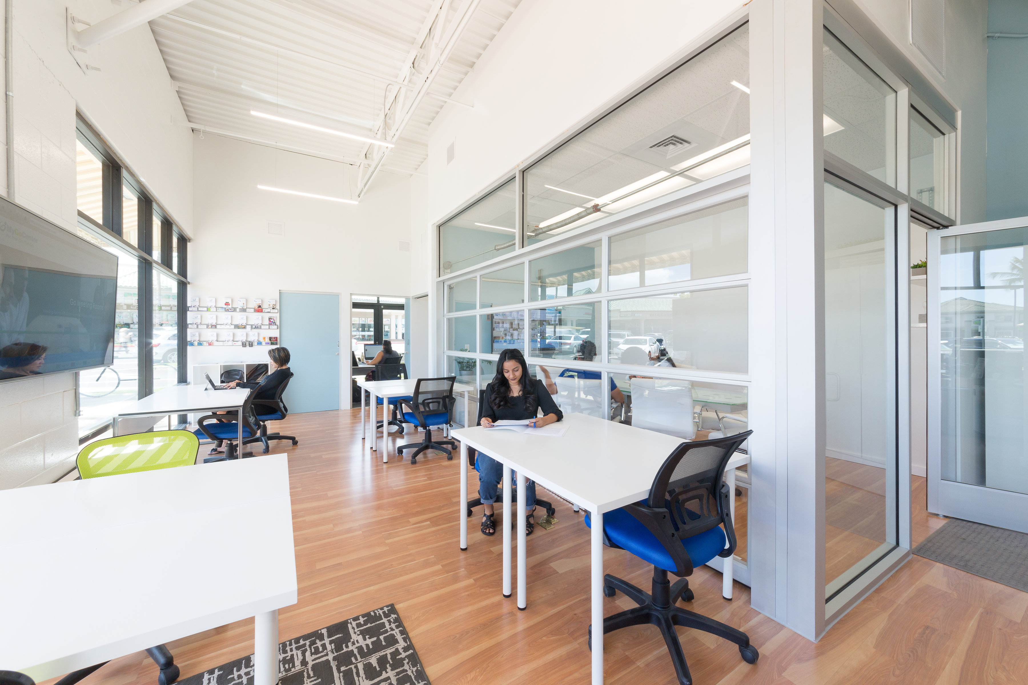 MyGoCenter shared workspace community area in Hawaii