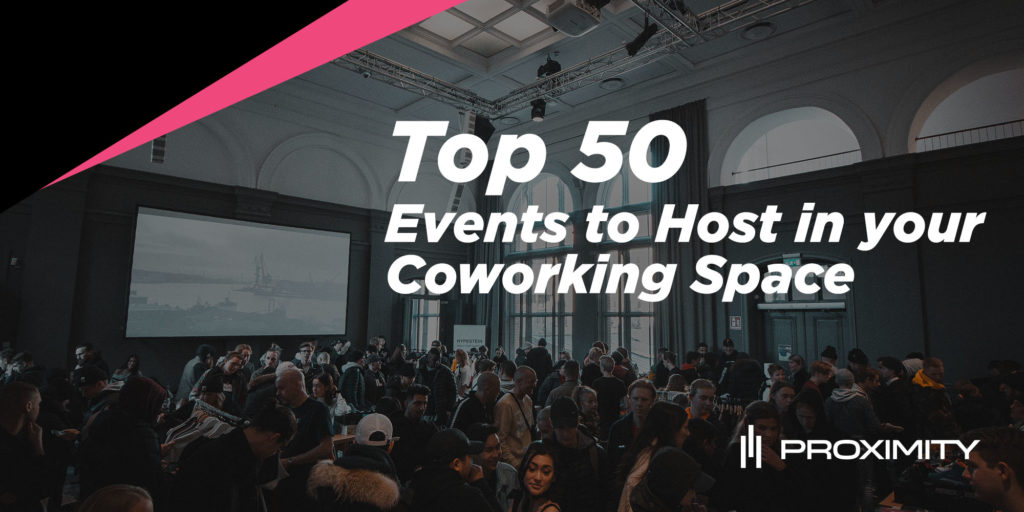 Events to Host in Coworking