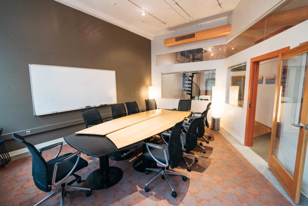 Percolator Space Coworking Conference Room