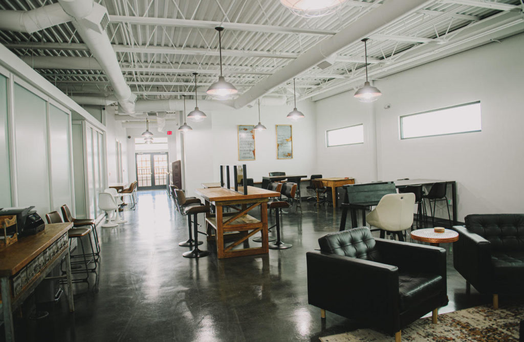Open office coworking at Old Town Headquarters