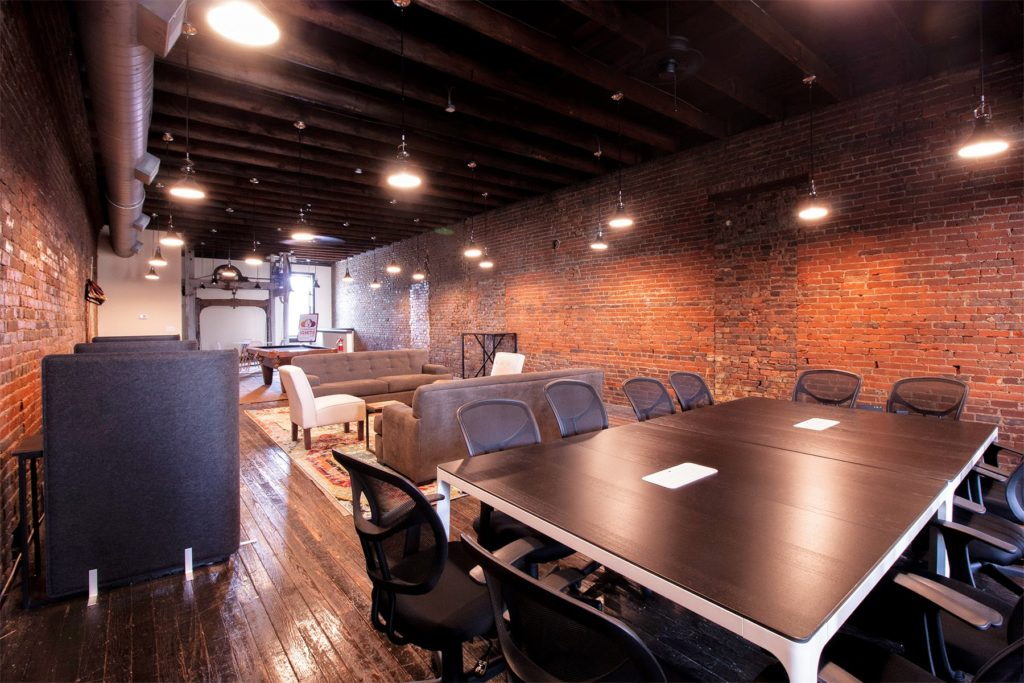 Conference room at Ignite Labs in Lebanon, Tennessee