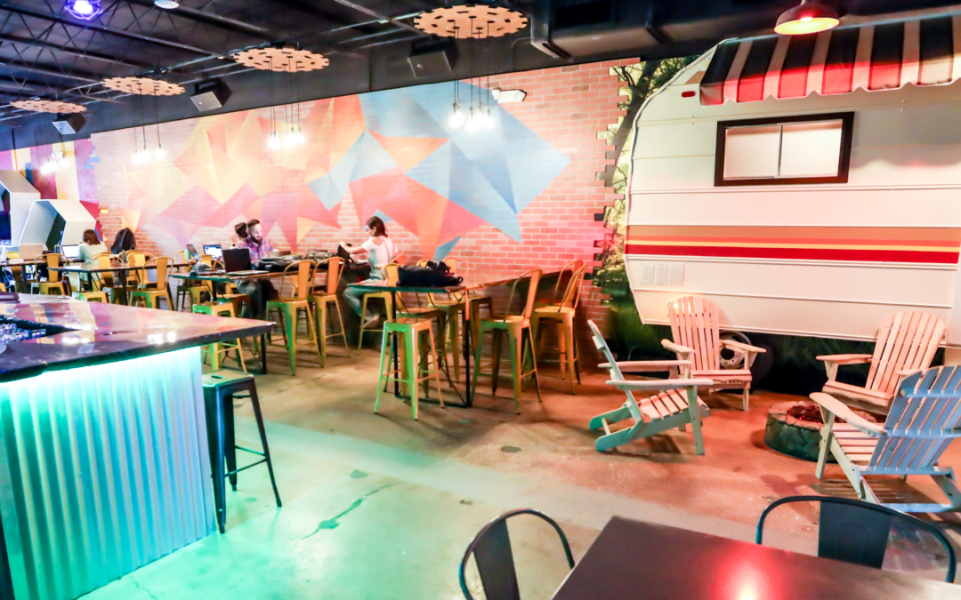 Work and Play at Southern Florida's Coolest New Coworking Space