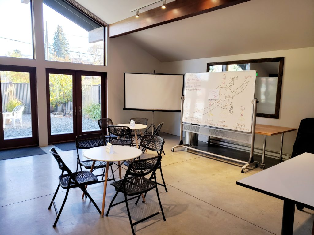 A meeting room at Ketchum Innovation Center