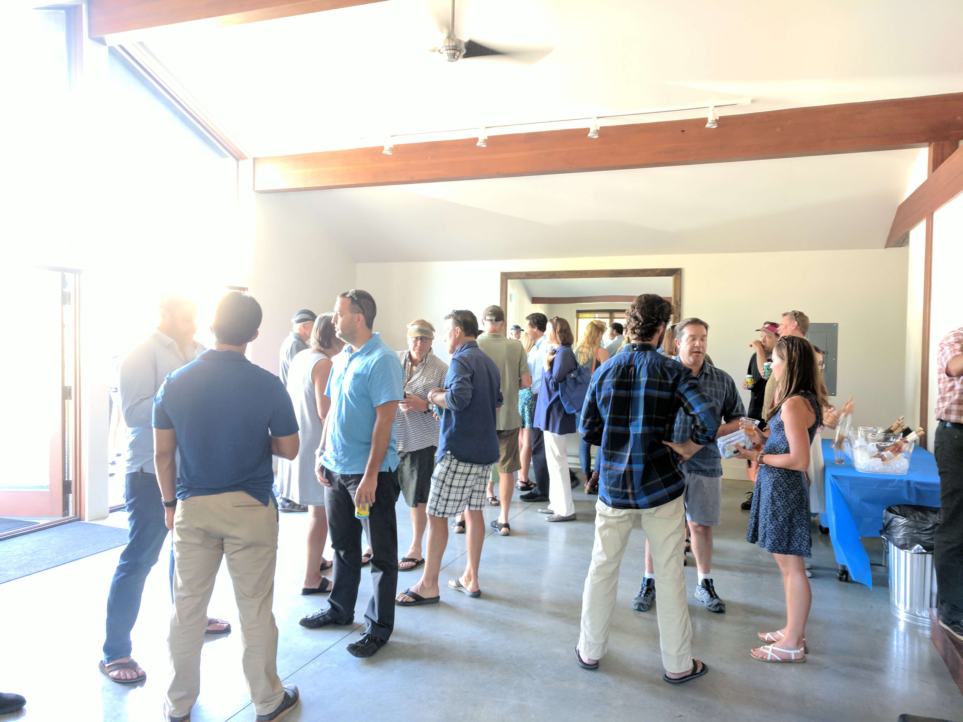 Networking event at Ketchum Innovation Center Coworking Space
