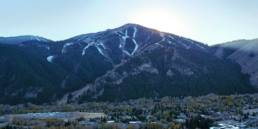 A view of Mt. Baldy from Ketchum Innovation Center