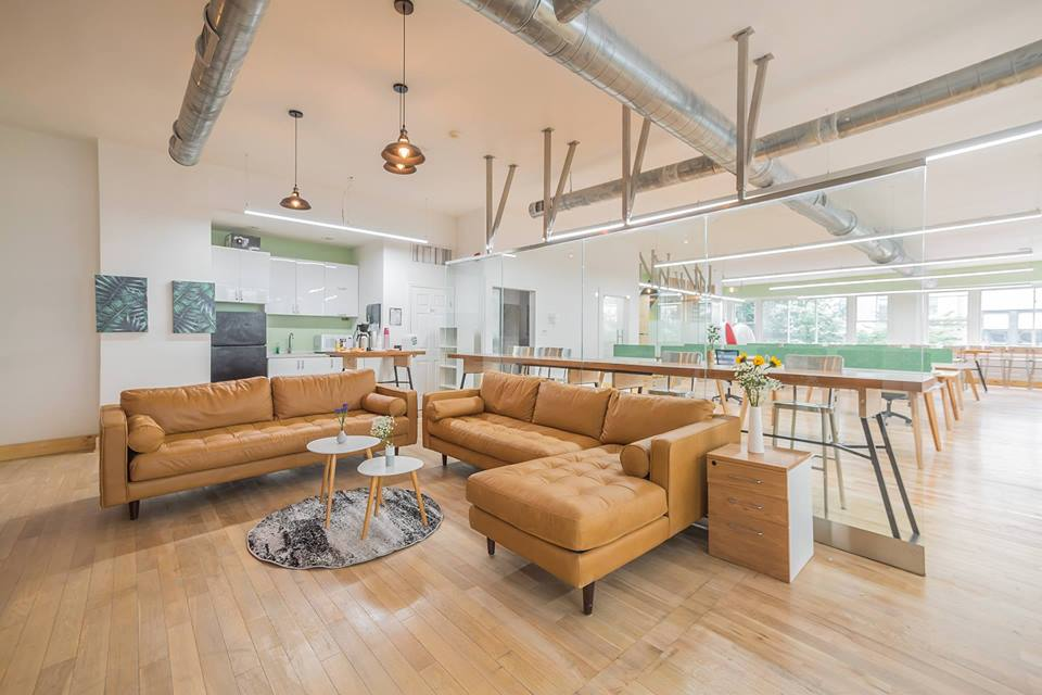 Coworking Lobby at Task Up