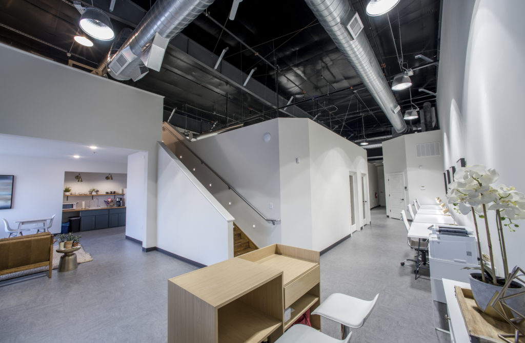 Open coworking space in Columbia, MO