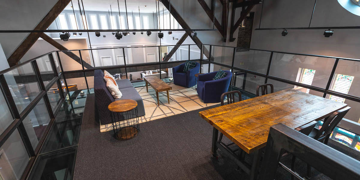 Photo of top floor at Co-balt