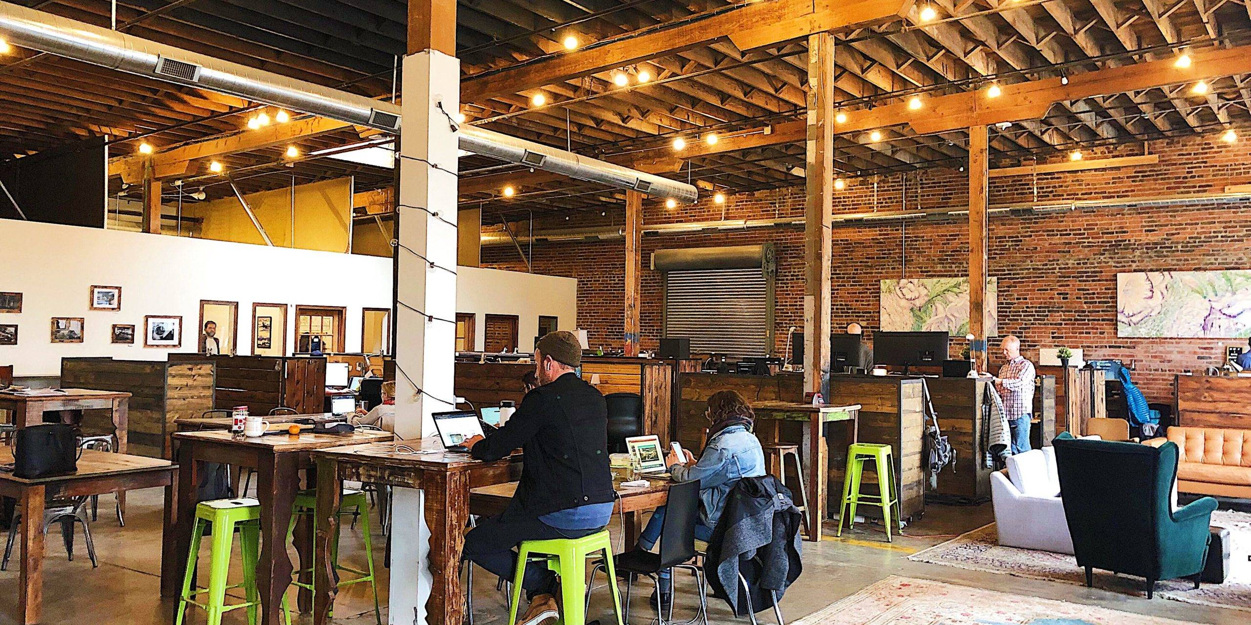 Coworking 101 Tour: Green Spaces