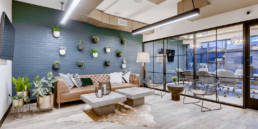 Community space at Park Coworking
