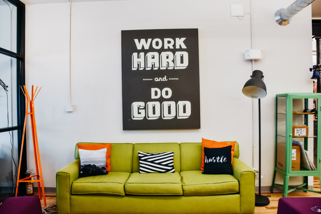 Lounge at Epicentral Coworking