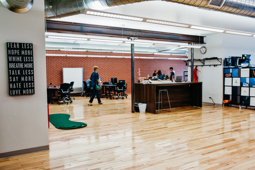 Coworking space at Epicentral