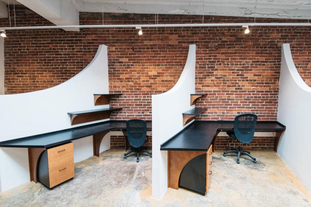 Percolator Space private desk