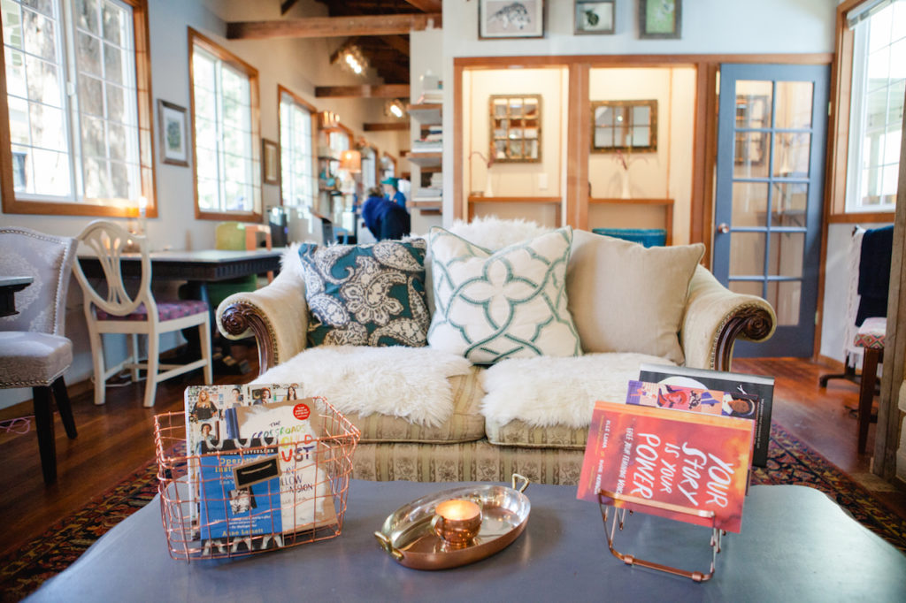 the Indie Alley coworking space in Fairfax, California