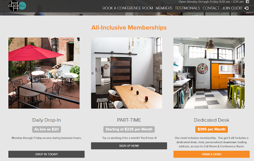 Display membership types on your website