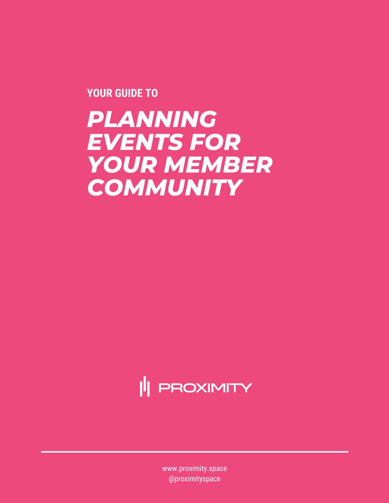 Guide to Planning Coworking Events